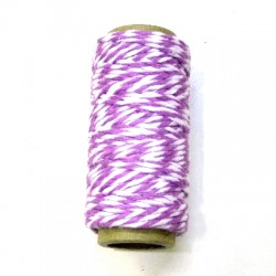 Bakers Twine lila rollo 10m