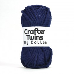Big Cotton azul marino