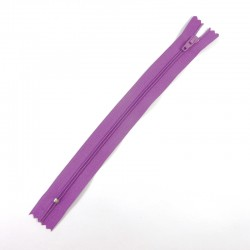 Zipper - Light Purple - 14cm
