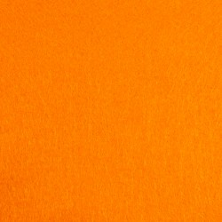Orange craft felt - 20x90cm