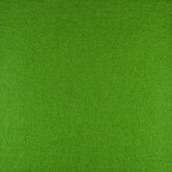 Dark green wool thick felt - 30x90cm