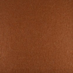Brown wool thick felt - 30x90cm