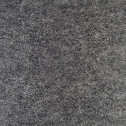 Marbled dark grey wool thick felt - 30x90cm