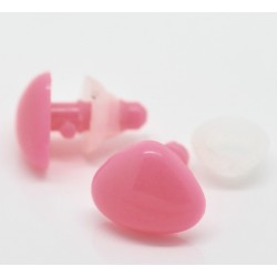 15mm pink safety nose - 5u.
