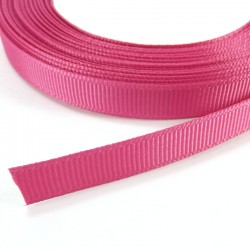 Cinta Grosgrain lisa 10mm - Fucsia