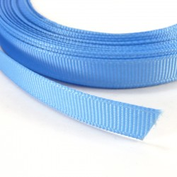 Cinta Grosgrain lisa 10mm - Azul