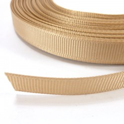 Cinta Grosgrain lisa 10mm - Beige