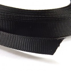 Cinta Grosgrain lisa 10mm - Negra