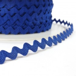 Rick rack ribbon 8mm - Blue