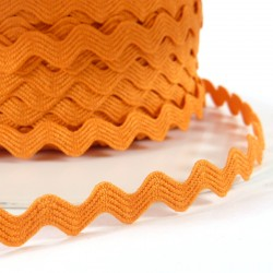 Rick rack ribbon 8mm - Orange