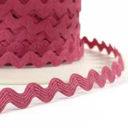 Rick rack ribbon 8mm - Pink