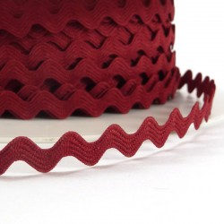 Rick rack ribbon 8mm - Red