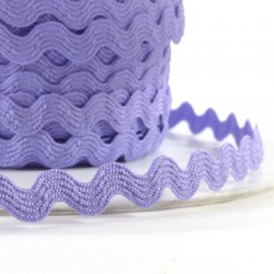 Rick rack ribbon 8mm - Light purple
