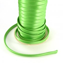 Spaguetti fabric tape 6mm - Green