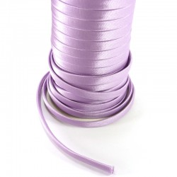 Spaguetti fabric tape 6mm - Light purple