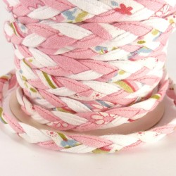 Braided ribbon 8mm - Pink