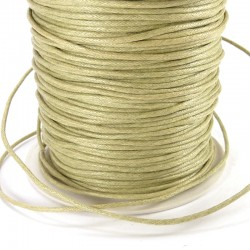 Thin cotton cord - Olive green