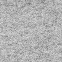 Marbled light grey wool thin felt - 50x180cm