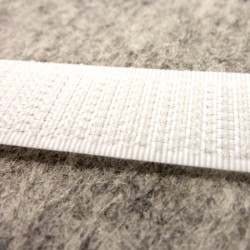 Velcro White 16mm - Hook