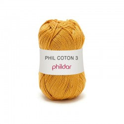 Phil Coton 3 Phildar - 0073 GOLD