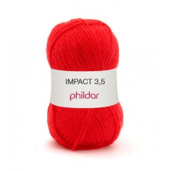 Impact 3,5 Phildar - 0017 ROUGE