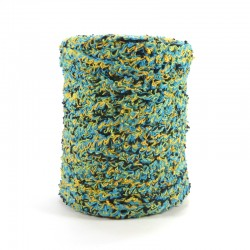 Towel yarn - Blue y Green