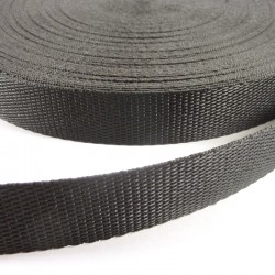 Nylon black tape 25cm