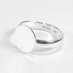 Finger ring round base 10mm - 5u