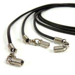 Black necklace - 3u