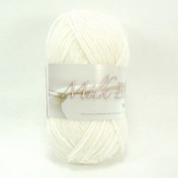Wool Milk bebe - 01 White