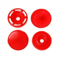 SNAP button red 10units