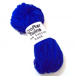 The Cotton hank azul oscuro