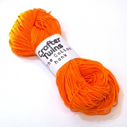 The Cotton hank Orange