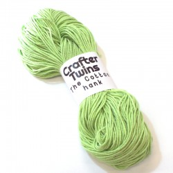 The Cotton hank Light green