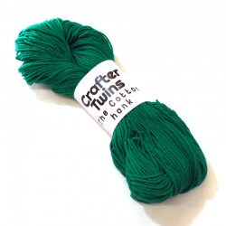 The Cotton hank Dark green