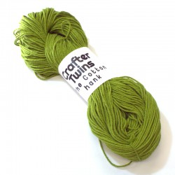 The Cotton hank Olive green