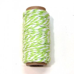 Bakers Twine green 10m roll