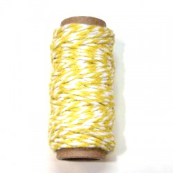 Bakers Twine yellow 10m roll