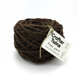 Ovillo lana Fast Yarn chocolate