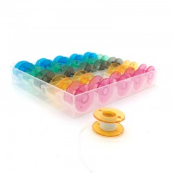 box 25 bobbins for sewing machine