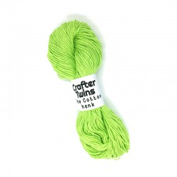 The Cotton hank lime green