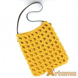 Net Bag TOTE / MARKET in yellow