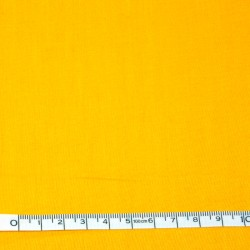 Yellow plain fabric - 50cm