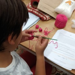 Kids Crochet and amigurumi workshop