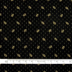 Black basic fabric - 50cm