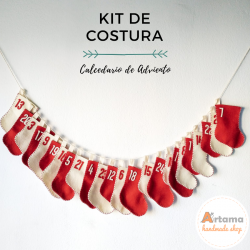 Socks advent calendar kit