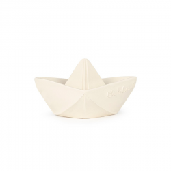 Teether ORIGAMI BOAT WHITE
