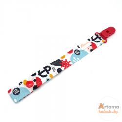 Pirates pacifier holder