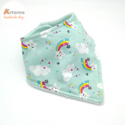 rainbow Bandana blue