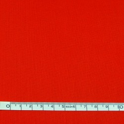 Red plain fabric - 50cm